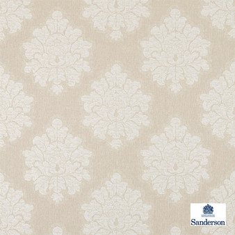 Sanderson Laurie - 236119    Upholstery Fabric - Beige, Traditional, Cushion, Damask, Natural, Natural Fibre, Standard Width