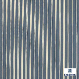Sanderson Brecon - 232667  | Upholstery Fabric - Grey, Stripe, Cushion, Fibre Blend, Standard Width