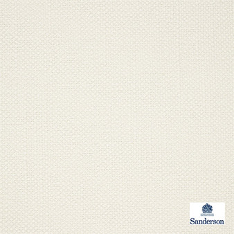 Sanderson Arley - 245803  | Upholstery Fabric - Washable, Cushion, Whites, Natural, Plain, Texture, Natural Fibre, Standard Width