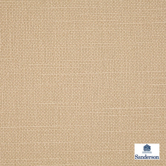 Sanderson Arley - 245806  | Upholstery Fabric - Washable, Beige, Cushion, Natural, Plain, Texture, Natural Fibre, Standard Width