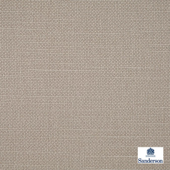 Sanderson Arley - 245809  | Upholstery Fabric - Washable, Brown, Cushion, Natural, Plain, Texture, Natural Fibre, Standard Width