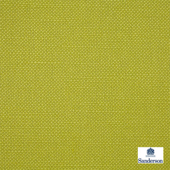 Sanderson Arley - 245823  | Upholstery Fabric - Washable, Green, Cushion, Natural, Plain, Texture, Natural Fibre, Standard Width