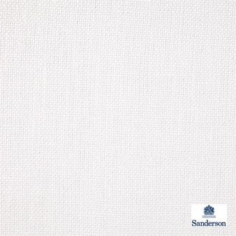 Sanderson Malbec - 246239  | Curtain & Upholstery fabric - Cushion, Whites, Natural, Plain, Natural Fibre, Standard Width