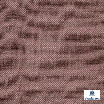 Sanderson Malbec - 246259  | Curtain & Upholstery fabric - Brown, Cushion, Natural, Plain, Natural Fibre, Standard Width