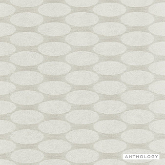 Anthology Cazimi - 111361  | Wallpaper, Wallcovering - Beige, Geometric, Circles, Pattern