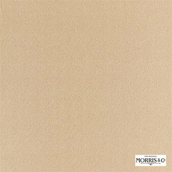 Morris & Co Lethaby Weave - 236834    Upholstery Fabric - Gold, Yellow, Fret, Greek Key, Cushion, Fibre Blend, Standard Width