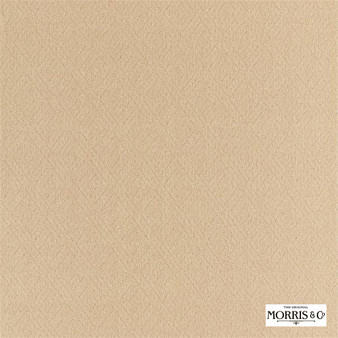 Morris & Co Lethaby Weave - 236834  | Upholstery Fabric - Gold, Yellow, Fret, Greek Key, Cushion, Fibre Blend, Standard Width