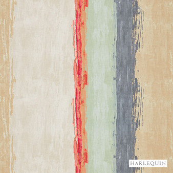 Harlequin Setola - 120509  | Upholstery Fabric - Beige, Red, Stripe, Cushion, Fibre Blend, Standard Width