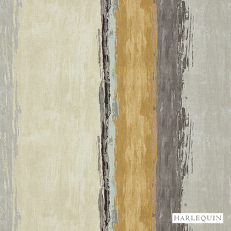 Harlequin Setola - 120510  | Upholstery Fabric - Brown, Stripe, Cushion, Fibre Blend, Standard Width