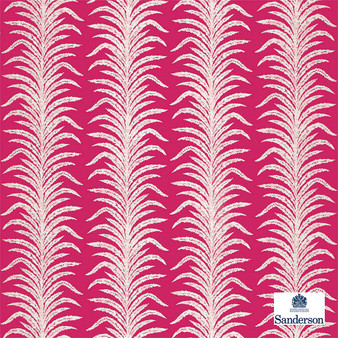 Sanderson Tree Fern Weave - 236767  | Curtain & Upholstery fabric - Red, Floral, Garden, Botantical, Cushion, Standard Width