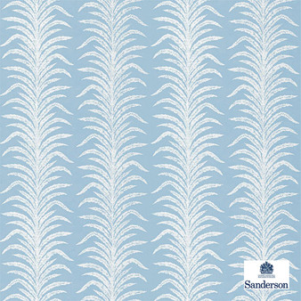 Sanderson Tree Fern Weave - 236768  | Curtain & Upholstery fabric - Blue, Floral, Garden, Botantical, Cushion, Standard Width