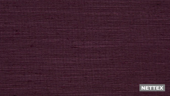 Nettex Sorbonne MG61 - Plum 140  | Curtain Fabric - Fire Retardant, Burgundy, Plain, Slub, Standard Width