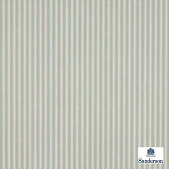 Sanderson Tiger Stripe DMUSTS207  | Upholstery Fabric - Green, Stripe, Traditional, Natural, Natural Fibre, Standard Width