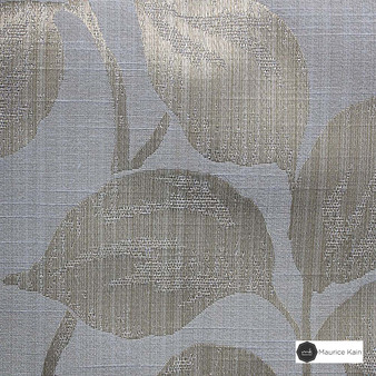 Maurice Kain Hazel 137cm - Breeze  | Curtain Fabric - Gold, Yellow, Contemporary, Floral, Garden, Botantical, Uncoated, Pattern, Fibre Blend
