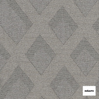 Sekers Intrigue 295cm - Sepia  | Curtain Fabric - Black, Charcoal, Diamond, Harlequin, Uncoated, Wide-Width, Geometric
