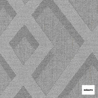 Sekers Intrigue 295cm - Silver  | Curtain Fabric - Grey, Diamond, Harlequin, Uncoated, Wide-Width, Silver, Geometric