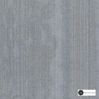 Maurice Kain Lannister 140cm - Frost  | Curtain Fabric - Grey, Stripe, Uncoated, Fibre Blend, Standard Width