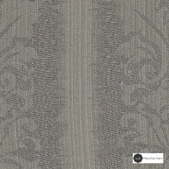 Maurice Kain Lannister 140cm - Mist  | Curtain Fabric - Tan, Taupe, Stripe, Uncoated, Fibre Blend, Standard Width