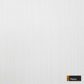 Filigree Mandeville 320cm - Ice  | Curtain Sheer Fabric - Fire Retardant, Wide-Width, Whites, Plain