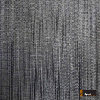 Filigree Mandeville 320cm - Shadow  | Curtain Sheer Fabric - Fire Retardant, Black, Charcoal, Wide-Width, Plain