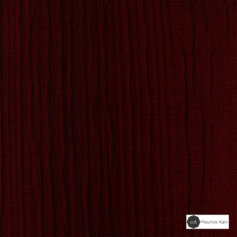 Maurice Kain Patina 140cm - Ruby  | Curtain Fabric - Fire Retardant, Red, Uncoated, Plain, Standard Width