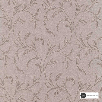 Maurice Kain Stratford - Blockout 140cm - Ceramic  | Curtain Fabric - Pink, Purple, Floral, Garden, Botantical, Traditional, Blockout, Blackout