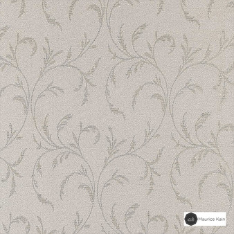 Maurice Kain Stratford 140cm - Serene  | Curtain Fabric - Tan, Taupe, Floral, Garden, Botantical, Traditional, Uncoated, Natural, Scroll, Pattern