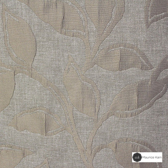 Maurice Kain Syracuse 137cm - Buff  | Curtain Fabric - Beige, Contemporary, Floral, Garden, Botantical, Uncoated, Pattern, Fibre Blend, Standard Width