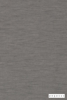 Pegasus Cavalier - Graphite  | Curtain Sheer Fabric - Grey, Plain, Industrial, Natural Fibre, Washable, Domestic Use, Dry Clean, Natural, Standard Width
