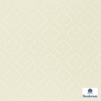 Sanderson Lymington Damask DNLMLD302  | Upholstery Fabric - Traditional, Damask, Natural, Natural Fibre, Standard Width