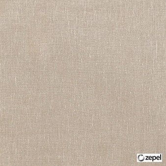 Zepel Fabrics - Allusion Nut  | Curtain & Upholstery fabric - Beige, Plain, Natural Fibre, Commercial Use, Domestic Use, Natural, Oeko-Tex,  Wide Width