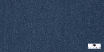 Chivasso Blueprint Jeans - CH2607/050  | Curtain & Upholstery fabric - Blue, Natural, Plain, Natural Fibre, Standard Width