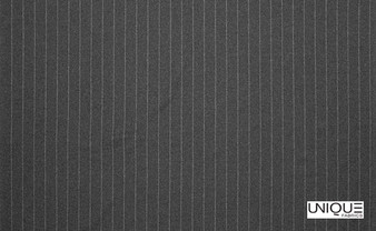 Unique Fabrics Westminster Brummel - Charcoal  | Curtain & Upholstery fabric - Black, Charcoal, Stripe, Traditional, Transitional, Natural