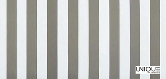 Unique Fabrics Outstanding Deck Stripe - Carrera  | Curtain & Upholstery fabric - Grey, Stripe, Traditional, Outdoor Use, Teflon, Standard Width