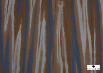 Chivasso Around The World Skye - CH2867/020  | Upholstery Fabric - Blue, Brown, Contemporary, Fibre Blend, Standard Width