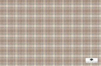 Chivasso Around The World Sutherland - CH2866/020  | Upholstery Fabric - Brown, Traditional, Check, Gingham, Plaid, Fibre Blend, Standard Width
