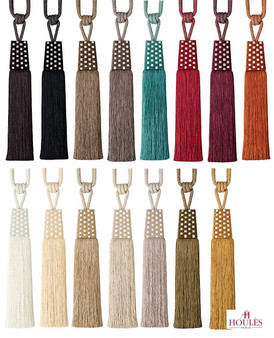 Houles Gallery 35757 Gallery Tieback - 35757.9000    Tie back, Curtain Accessory - Contemporary, Trimmings, Tie-Back, Fibre Blend
