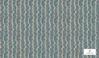 Carlucci Atmosphere Scribble - CA1313/020  | Curtain & Upholstery fabric - Blue, Contemporary, Stripe, Standard Width