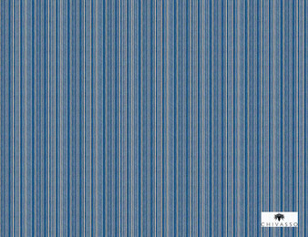 Chivasso Around The World Gainer - CH2843/020  | Upholstery Fabric - Blue, Stripe, Traditional, Strie, Standard Width, Strie