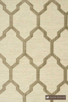 James Dunlop Isobars - Shadow    Curtain & Upholstery fabric - Washable, Grey, Mediterranean, Dry Clean, Geometric, Lattice, Trellis, Natural