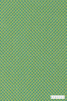Pegasus Vidos - Melon  | Upholstery Fabric - Washable, Green, Outdoor Use, Chevron, Zig Zag, Herringbone, Plain, Standard Width
