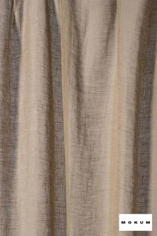 Mokum Lino * - Smoky Quartz  | Curtain & Curtain lining fabric - Washable, Brown, Wide-Width, Dry Clean, Natural, Plain, Texture, Natural Fibre