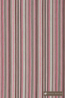 James Dunlop Direction - Candy  | Upholstery Fabric - Washable, Pink, Purple, Red, Stripe, Eclectic, Dry Clean, Natural, Natural Fibre, Standard Width