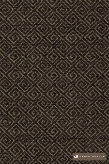 James Dunlop Template - Metro  | Upholstery Fabric - Washable, Brown, Fret, Greek Key, Asian, Dry Clean, Geometric, Diaper, Small Scale, Fibre Blend