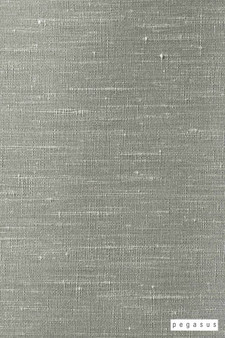Pegasus Silk Road - Mercedes  | Curtain Fabric - Fire Retardant, Silver, Dry Clean, Plain, Slub, Fibre Blend, Standard Width