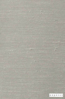 Pegasus Silk Road - Pearl  | Curtain Fabric - Fire Retardant, Dry Clean, Whites, Plain, Slub, Fibre Blend, Standard Width