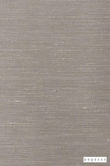 Pegasus Silk Road - Pebble  | Curtain Fabric - Fire Retardant, Beige, Tan, Taupe, Dry Clean, Plain, Slub, Fibre Blend, Standard Width