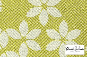 Christian Fischbacher Sonnen-Pause Reversible - 503 R Face  | Upholstery Fabric - Gold, Yellow