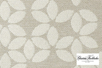 Christian Fischbacher Sonnen-Pause Reversible - 507 R Face  | Upholstery Fabric - Tan, Taupe