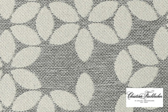 Christian Fischbacher Sonnen-Pause Reversible - 515 R Face  | Upholstery Fabric - Silver